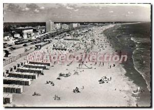Modern Postcard Saint Jean De Monts Beach