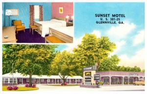 Georgia Glennville ,  Sunset Motel