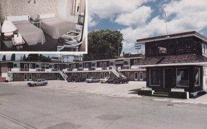 CAP-DE-LA-MADELEINE, QUEBEC CITY, Canada, MIAMI MOTEL, 50-60s