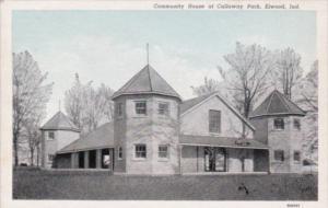 Indiana Elwood Community House At Callaway Park Curteich
