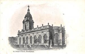 Birmingham St Philip's Church Kirche Eglise