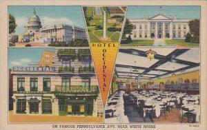 Washington DC Hotel Occidental On Famous Pennsylvania Avenue Near White House