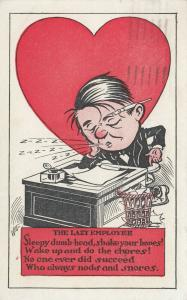 Vinegar VALENTINE, The Lazy Employee, PU-1921