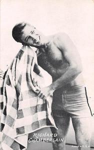 Richard Chamberlain Non Postcard Backing Unused