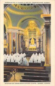 3008 Interieur De La Chapelle Des SS. Franciscaines, Quebec
