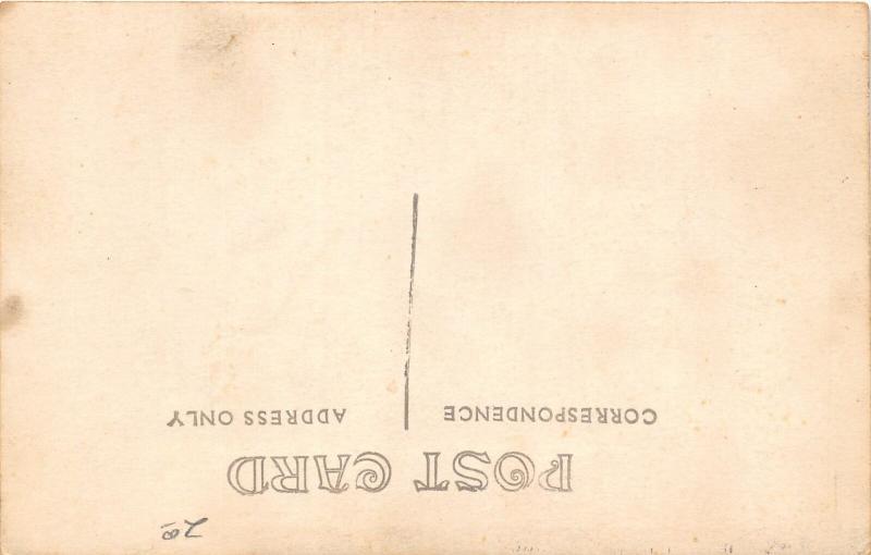 F25/ Interesting RPPC Photo Postcard 1912 Hunting Rifles Deer Taxidermy 4