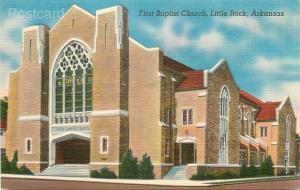 AR, Little Rock, Arkansas, First Baptist Church, Colourpicture No. K6231