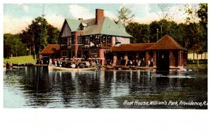 Rhode Island Providence , Roger Williams Park,     Boat House