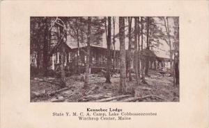 Kennebec Lodge Winthrop Center Maine 1934