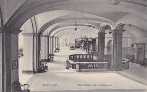 Interior, Brunnenhalle Und Kesselbrunnen, Bad Ems (Rhineland-Palatinate), Ger...
