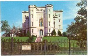 The Old State Capitol in Baton Rouge Louisiana LA