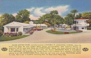 Florida St Augustine Palms Motor Court