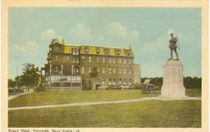 Grand Hotel, Yarmouth,Nova Scotia ,Canada, PU-1930s