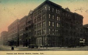 Paxton and Murray Hotels Omaha NE 1911