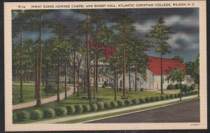 North Carolina clr Howard Chapel Atlantic Christian College, Wilson, N.C unused