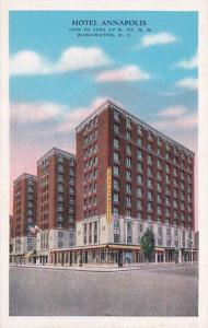 Washington D C Hotel Annapolis 1939