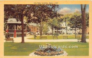 City Park in Lewiston, Maine