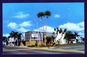 FL Vintage view Palmetto Bank & Trust Co Florida Postcard PC