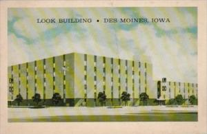 Look Building Look Magazine Subscription Department Des Moines Iowa