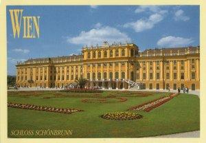 Austria Wien Schloss Schonbrunn View Vintage Postcard