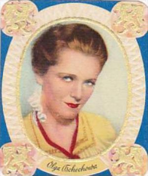 Garbaty Cigarette Card 1934 Modern Beauties No 169 Olga Tschechowa