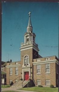St Paul Lutheran Church,Ironwood,MI Postcard BIN