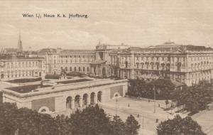 VIENNA, Austria, 1900-10s; Wien 1./1 Neue K.k. Hofburg