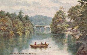 TUCK #7754; BUILTH WELLS, Powys, Wales, United Kingdom; Irvon Bridge, 1900-10s