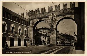 CPA VERONA Portoni della Bra . ITALY (493840)