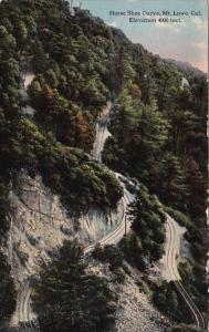 California Mount Lower Horse Shoe Curve Elevation 4,000 Feet 1917