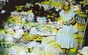 Haiti Port-au-Prince Inside Iron Market