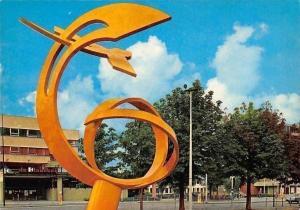 Netherlands Enschede Kunst en Openbare Bibliotheek, Library Street Auto Car