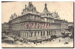 Old Postcard Lyon Stock Exchange Palace