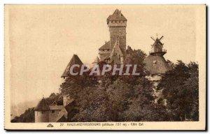 Postcard Old Hochkönigsburg East Coast