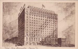 Illinois Peoria Hotel Pere Marquette 1947