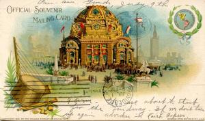 NY - Buffalo. 1901 Pan-American Exposition, Temple of Music (Private Mailing ...