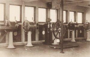 Postcard The Bridge of White Star Line RMS Titanic CA1
