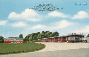 AL, Birmingham, Alabama, No. 78 Motel, E.C. Kropp No. 20793N