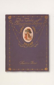 Beatrix Potter The Tale Of Benjamin Bunny 1904 Book Postcard