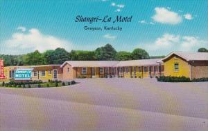 Kentucky Grayson Shangri La Motel & Restaurant