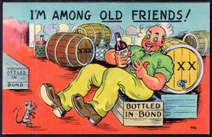 I'M Amoung Old Friends,Drunk Comic