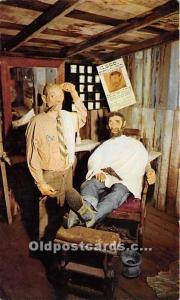 Knott's Berry Farm, Buena Park, California, CA, USA Postcard The Barber ...