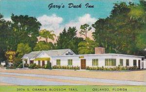 Florida Orlando Garys Duck Inn Restaurant