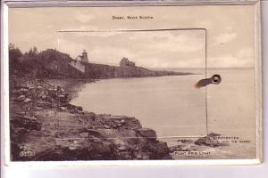 Point Prim Lighthouse, Digby Nova Scotia Rotograph Mechanical
