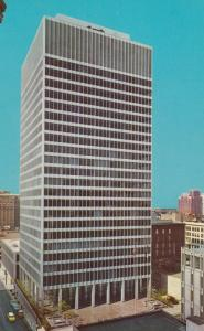 MEMPHIS , Tennessee , 50-60s ; New First National Bank Building