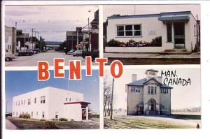Benito Multiview, Manitoba School, Hospital, Post Office