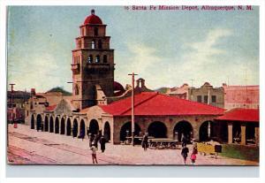 New mexico Sante Fe mission Depot