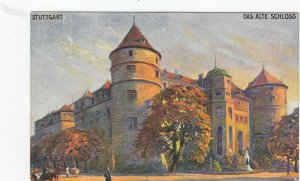 STUTTGART , Germany, 1900-10s ; Das Alte Schloss ;  TUCK 166 B
