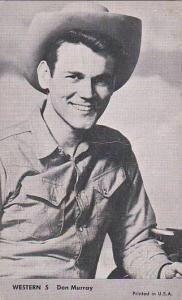 Cowboy Arcade Card Don Murray