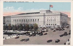 Public Auditorium Cleveland Ohio